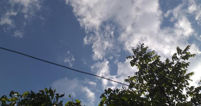 El ambiente continuará caluroso durante el día y con probabilidad de lluvias leves en el occidente