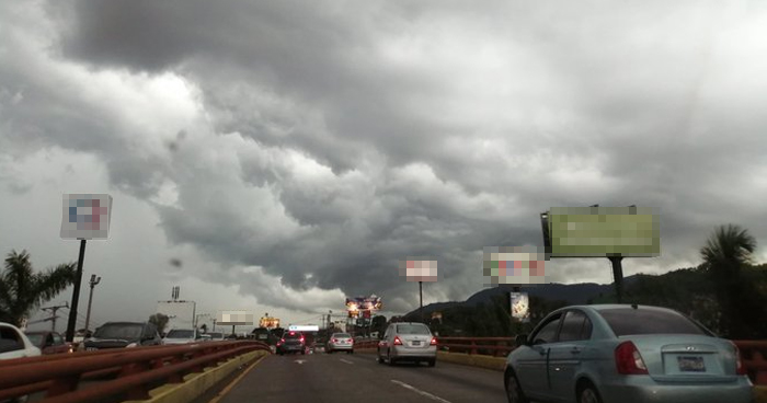 Salida de Onda Tropical favorecerá lluvias y tormentas de aisladas en la zona central y occidental del país
