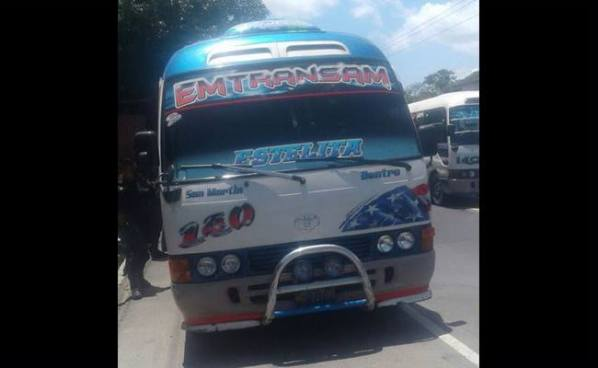 Pasajero es asesinado en el interior de la ruta 140 en Ilopango