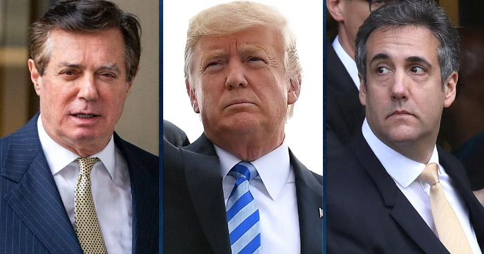 Dos antiguos colaboradores de Donald Trump son hallados culpables de ocho cargos de fraude