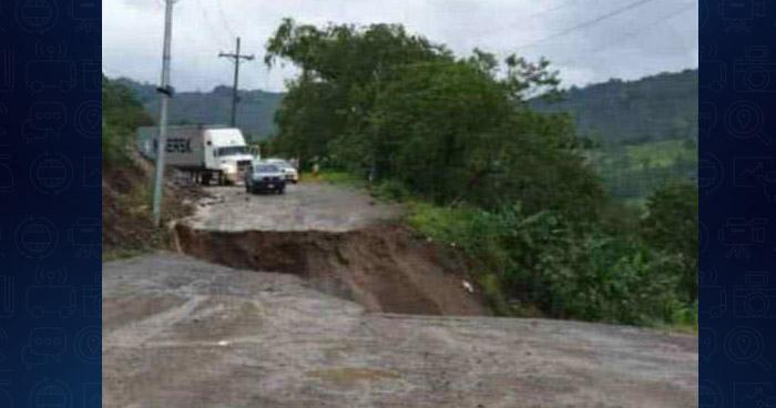 Falla geológica deja incomunicado el occidente de Honduras con El Salvador y Guatemala