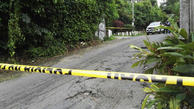 Encuentran cadáver envuelto en sabanas en la colonia Dolores de San Salvador