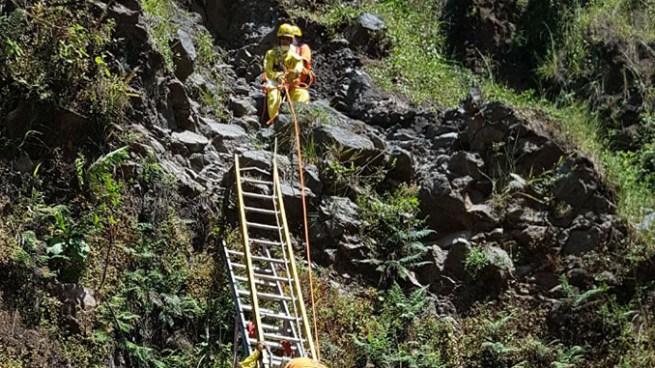 Localizan cadáver de un hombre en medio de un paredón en Nueva Guadalupe, San Miguel