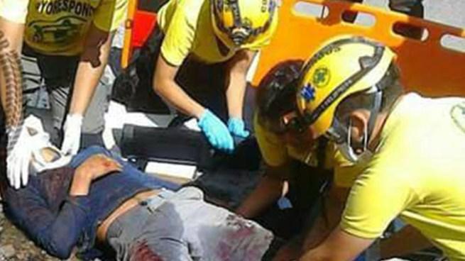 Accidente de transito deja al menos un fallecido y un lesionado en la Carretera de Oro