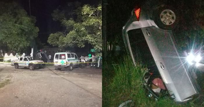 Conductor muere al accidentarse en Santa Ana