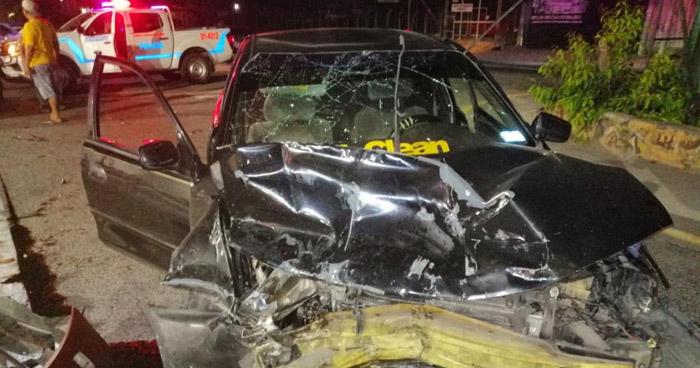 Conductor ebrio provoca choque en carretera de Oro