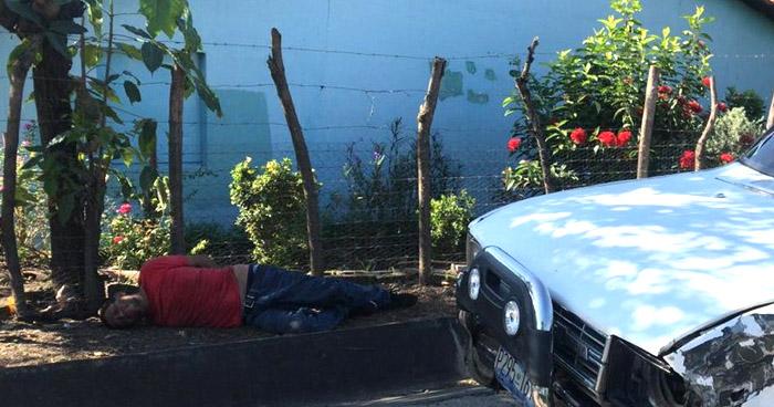 Conductor ebrio provoca accidente de tránsito en carretera Panamericana, San Miguel