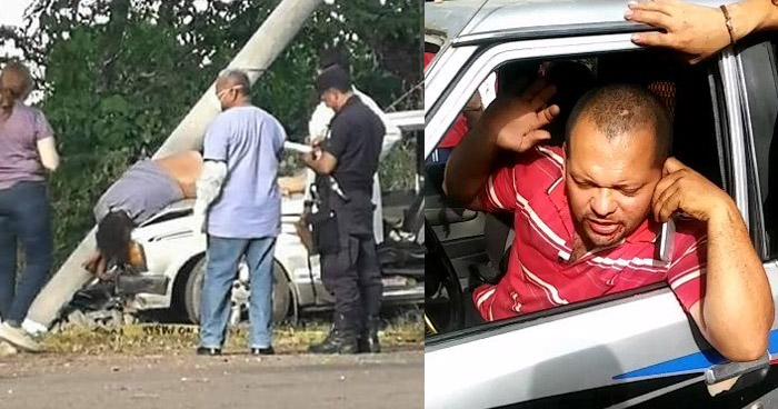 """""""Si no esta muerto, ahorita lo voy a matar"""", dijo conductor ebrio que atropelló y mato a un ciclista ayer en San Miguel"""