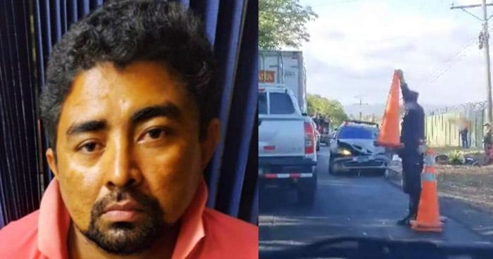 Capturado por provocar accidente donde murieron padre e hijo en La Paz