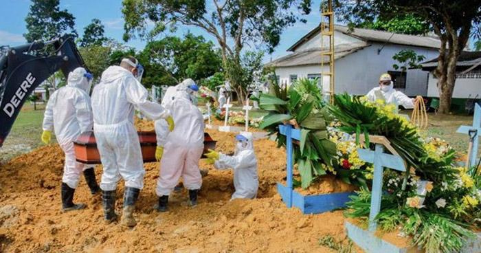 Brasil supera los 100 Mil contagios por COVID-19 en un día