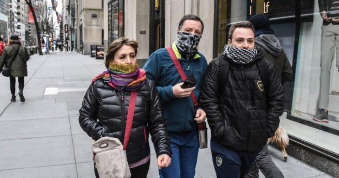 Nueva York registra 5 mil nuevos casos de COVID-19
