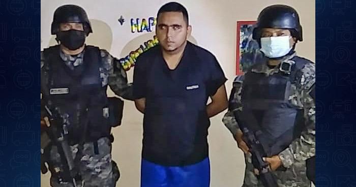 Capturan a corredor de pandilla con amplio récord criminal