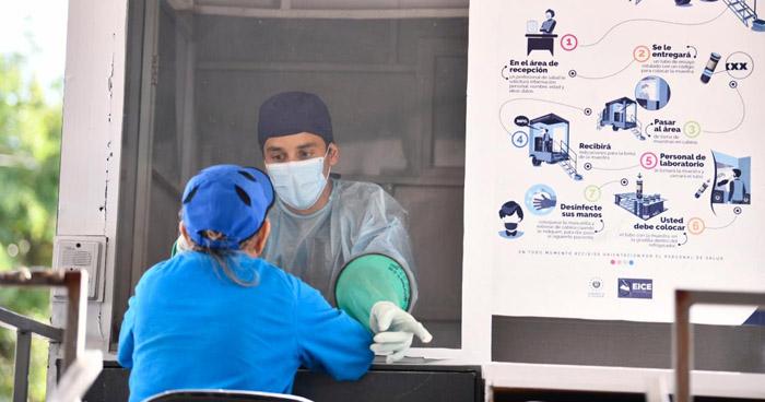 198 nuevos contagios y 7 fallecidos por COVID-19 en El Salvador