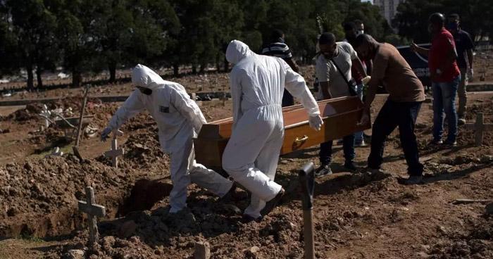 América Latina supera las 100.000 muertes por COVID-19