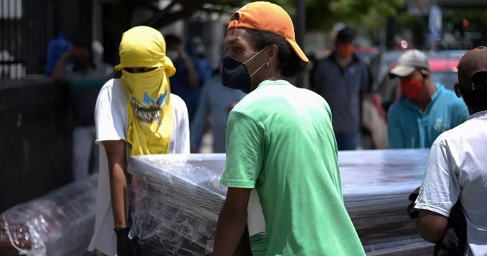 Sube a más de 2 mil el número de fallecidos por COVID-19 en Ecuador