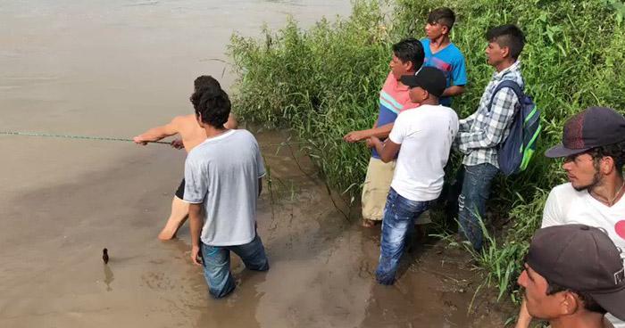 Migrantes hondureños ingresan de forma ilegal a El Salvador para llegar a Estados Unidos