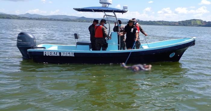 Localizan cuerpo de persona desaparecida tras accidentarse en un Jet Sky en el Lago de Güija