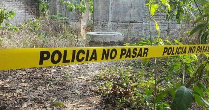 Encuentran cadáver al interior de un pozo en Cuscatlán