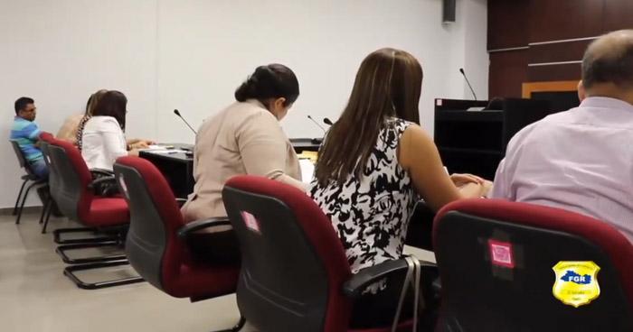 Piden prisión preventiva para acusados de retener cuotas a empleados de la alcaldía de Santa Tecla