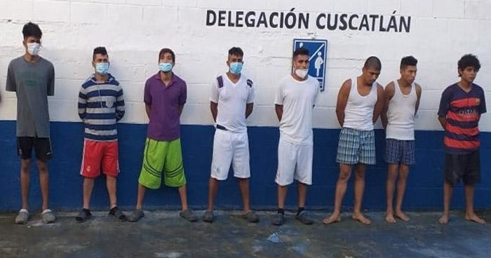 Capturan a pandilleros buscados por homicidios en Cuscatlán