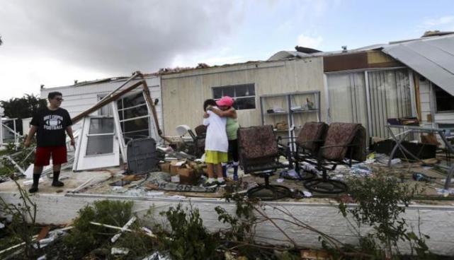 Los daños de huracán Irma y Harvey superan los provocados por Katrina