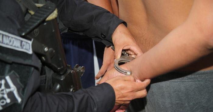 Capturan a 23 delincuentes y les incautan $6.500 en efectivo