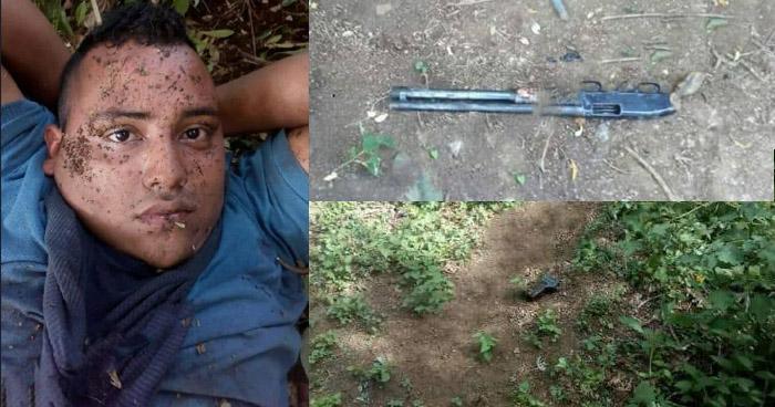 Capturan a un pandillero de la MS, luego de un enfrentamiento en Usulután