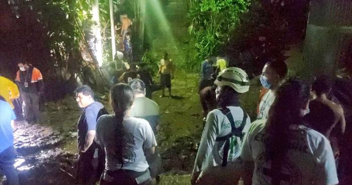 Deslave alertó a habitantes de San Marcos tras lluvia de anoche