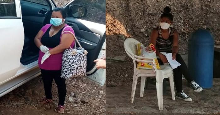 Intervienen a mujeres que ingresaron por puntos ciegos para no someterse a Cuarentena