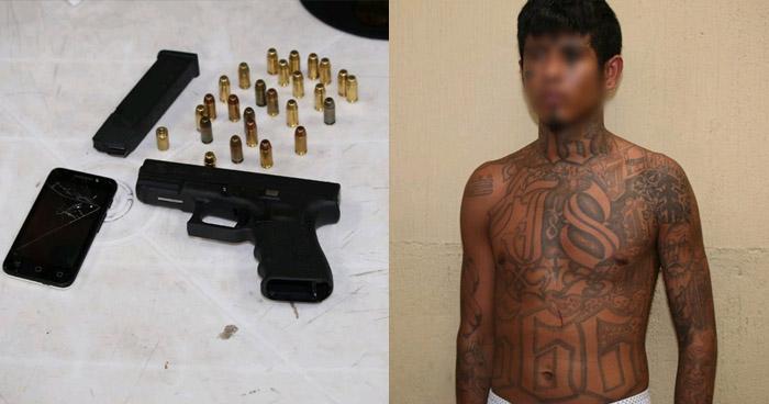 Capturan a pandillero salvadoreño en Guatemala
