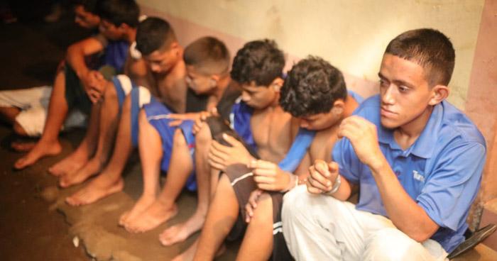 Capturan a pandilleros que operaban en La Unión y Usulután