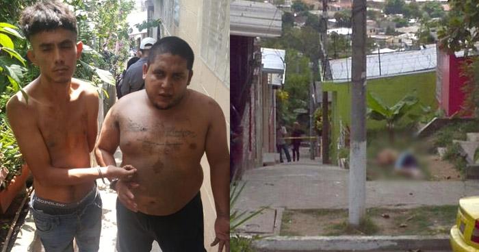 Detenidos por asesinar a un vecino en Barrio San Jacinto, San Salvador