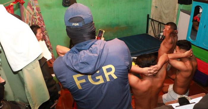 Desarticulan estructura de la Pandilla 18R que operaba en Panchimalco