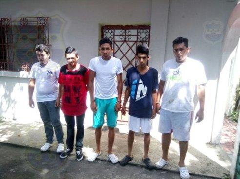 Capturan a 5 sujetos que habían secuestrado a un menor en Quezaltepeque