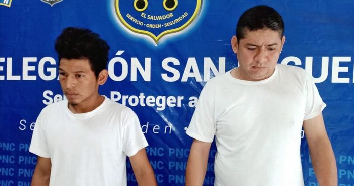 Detenidos tras hurtar piezas en un taller automotriz