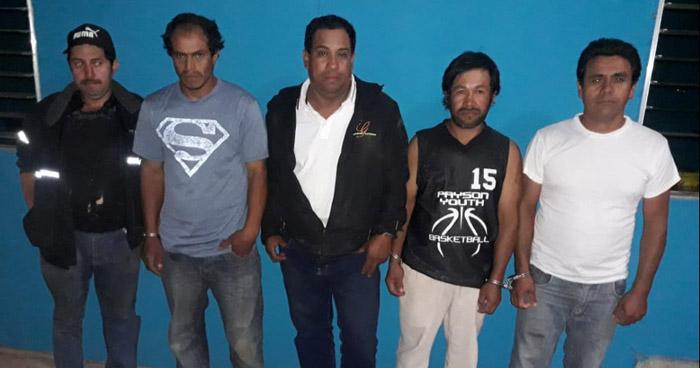 Tres detenidos por violación en Chalatenango