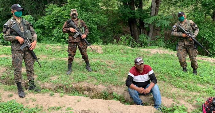 Interceptan a dos personas cuando intentaban salir ilegalmente hacia Honduras