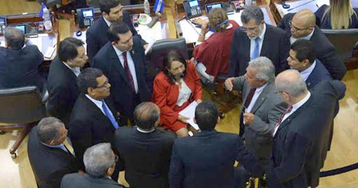Suspenden seguridad a diputados de la Asamblea Legislativa