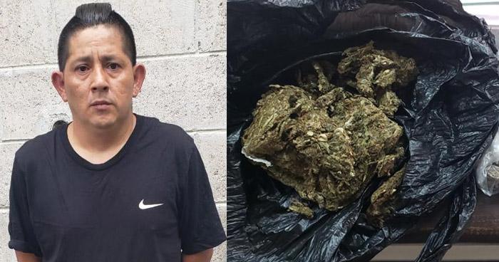 Pandillero detenido cuando distribuía droga en San Salvador