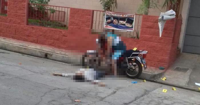 Hombre y mujer asesinados cerca de la alcaldía de Turín, Ahuachapán
