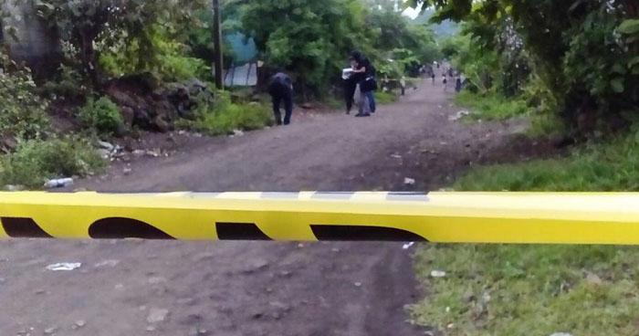 Asesinan a dos hombres en colonia de Yayantique, La Unión