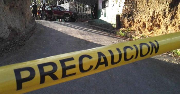 Dos hombres fueron acribillados a balazos en Ciudad Delgado