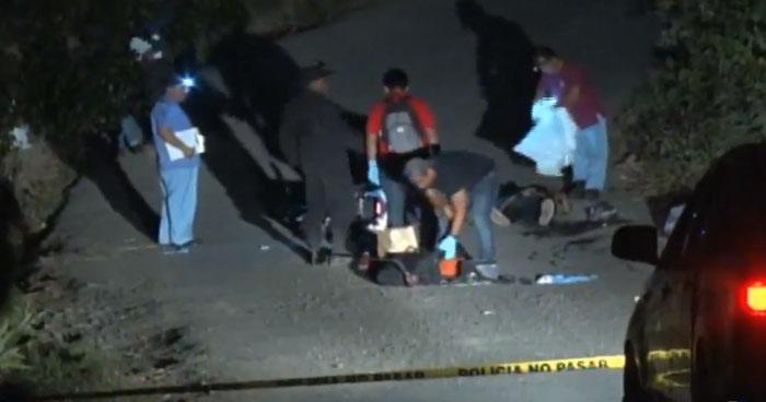 Dos jóvenes fueron asesinados cuando regresaban de realizar compras en Ilobasco