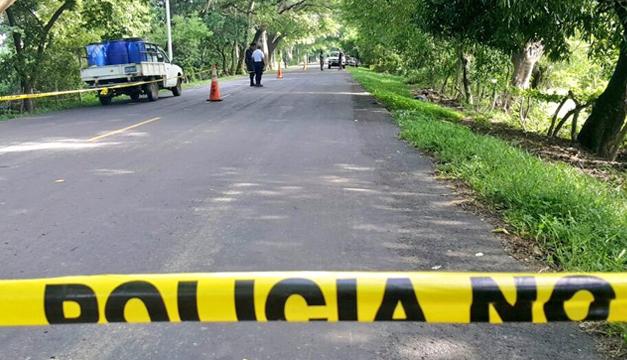 menor edad junto con  una mujer son asesinados en San Miguel