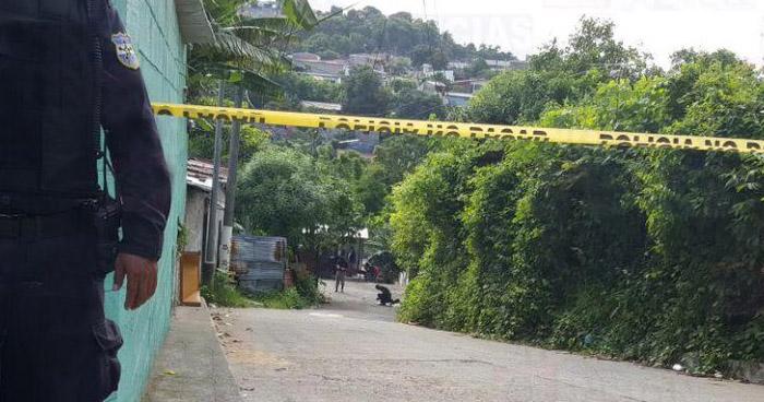 Asesinan a dos hombres en Plan del Pito de Mejicanos