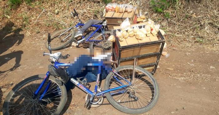 Asesinan a dos pandilleros cuando repartían pan en Atiquizaya