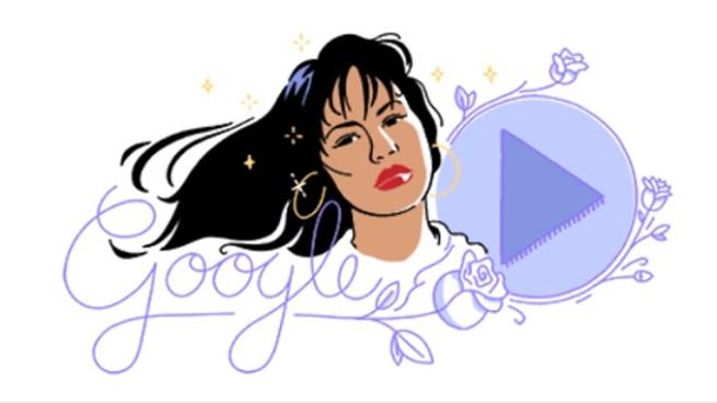 Google celebra con un Doodle Animado el aniversario del lanzamiento del primer disco de Selena