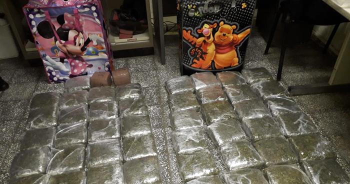 Ahuachapán: Incautan bolsas con 52 paquetes de droga valorada en más de $55 mil