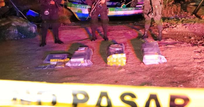 Incautan más de 100 kg de Cocaína en Conchagua, La Unión