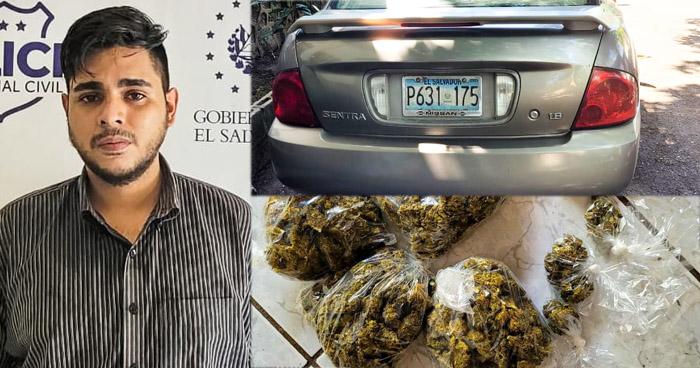 Intentó huir pero fue detenido con varias porciones de droga
